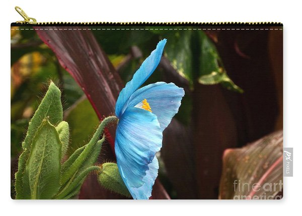 The Colors Of The Himalayan Blue Poppy Carry-all Pouch
