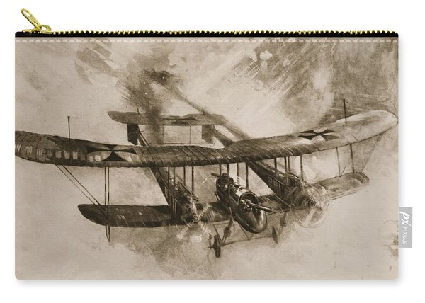 German Biplane From The First World War Carry-all Pouch