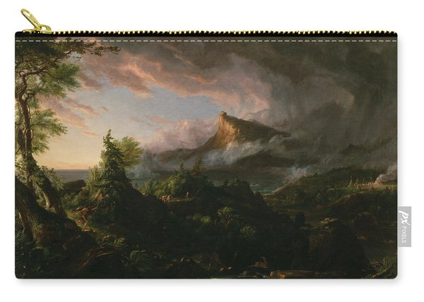 The Course Of Empire The Savage State  Carry-all Pouch