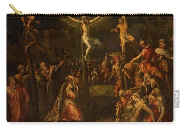 The Crucifixion, 1550?-1700 Carry-all Pouch