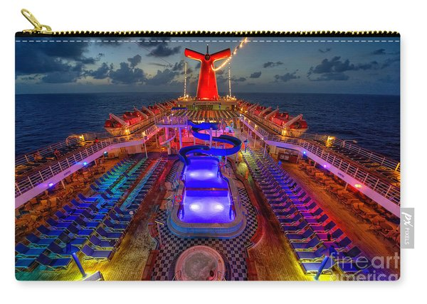 The Cruise Lights At Night Carry-all Pouch