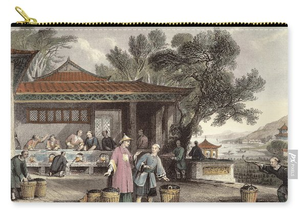 The Culture And Preparation Of Tea Carry-all Pouch