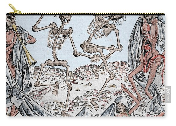 The Dance Of Death Carry-all Pouch