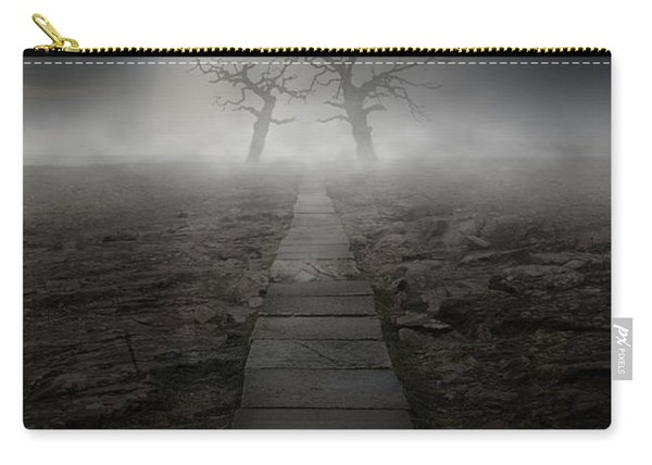 Carry-all Pouch featuring the photograph The Dark Land by Jaroslaw Blaminsky