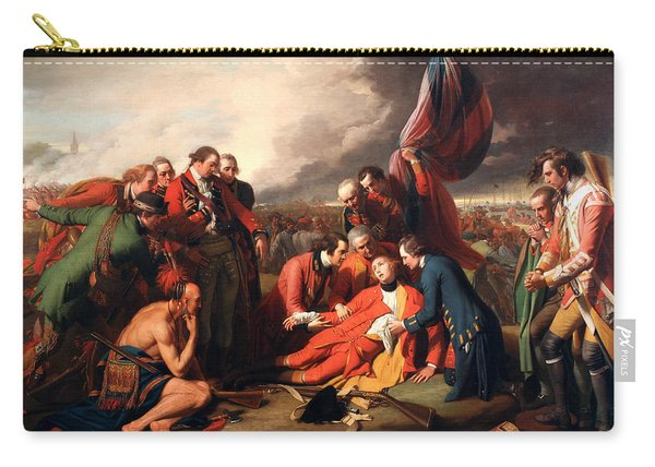 The Death Of General Wolfe Carry-all Pouch