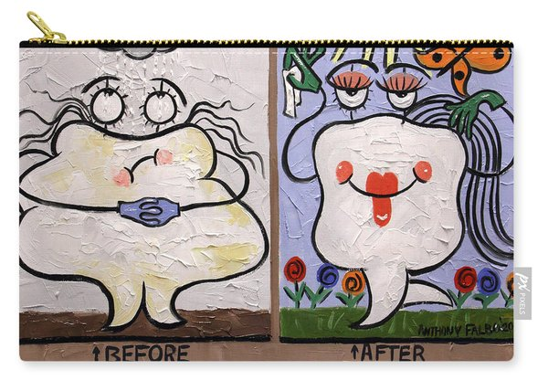 The Dentist Appointment Dental Art By Anthony Falbo Carry-all Pouch