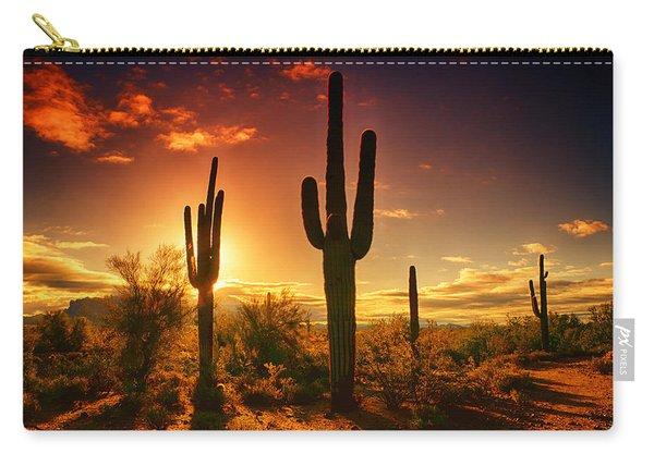 The Desert Awakens  Carry-all Pouch
