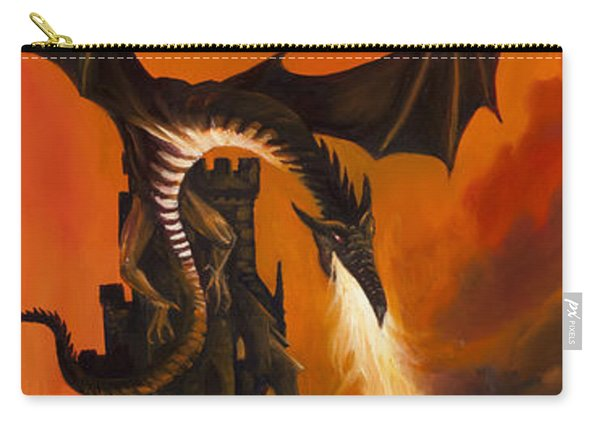 The Dragon's Tower Carry-all Pouch
