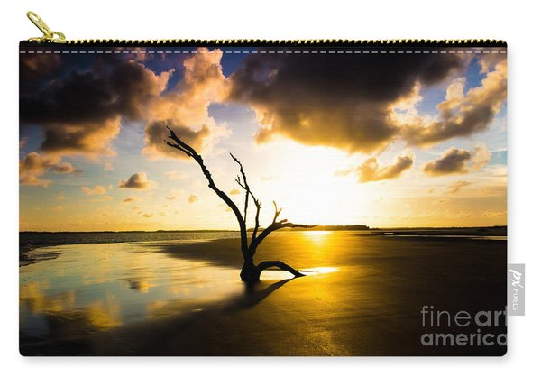 The Driftwood Tree Folly Beach Carry-all Pouch