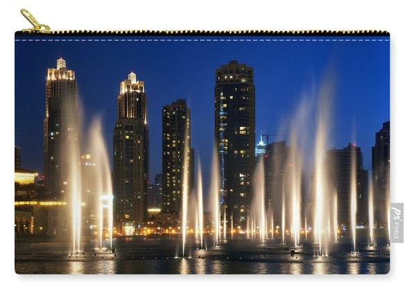 The Dubai Fountains Carry-all Pouch