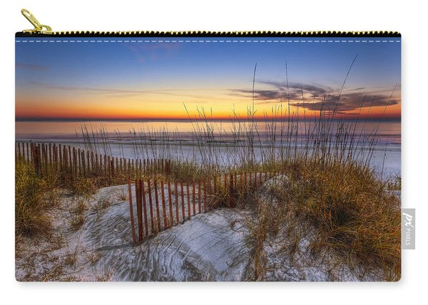 The Dunes At Sunset Carry-all Pouch