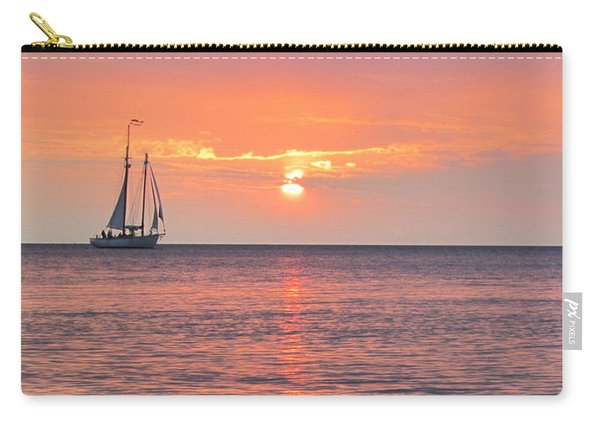 The Edith Becker Sunset Cruise Carry-all Pouch