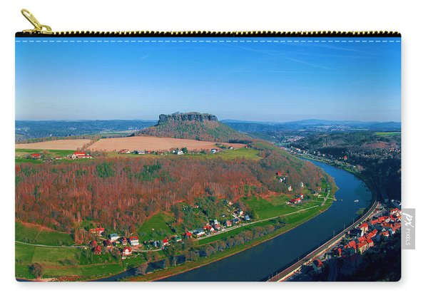 The Elbe Around The Lilienstein Carry-all Pouch