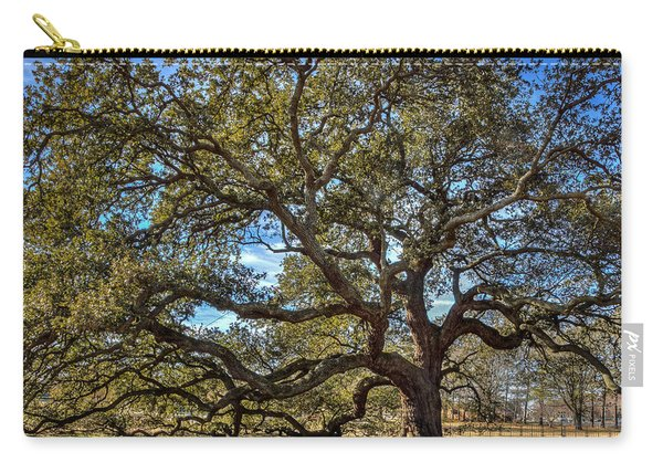 The Emancipation Oak Tree At Hu Carry-all Pouch