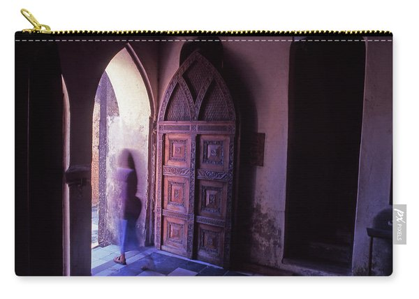 The Entrance And Door Of The Anglican Carry-all Pouch
