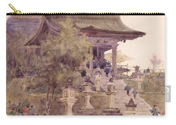 The Entrance To The Temple Of Kiyomizu Dera Kyoto Carry-all Pouch