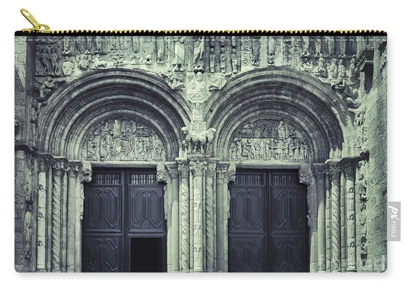The Facade Of The Silverware  Carry-all Pouch