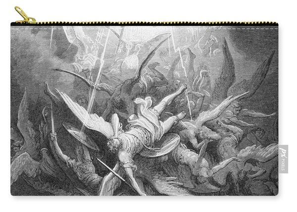 The Fall Of The Rebel Angels Carry-all Pouch