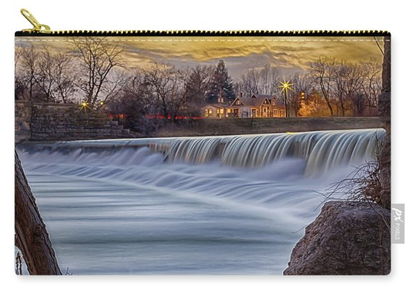 The Falls Of White River Carry-all Pouch