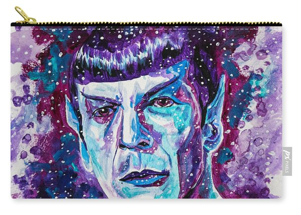 Carry-all Pouch featuring the painting The Final Frontier by Joel Tesch
