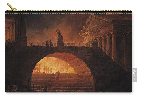 The Fire Of Rome Carry-all Pouch