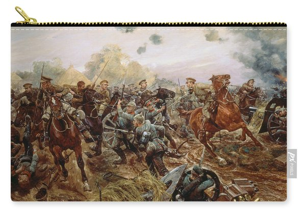 The First Vc Of The European War, 1914 Carry-all Pouch