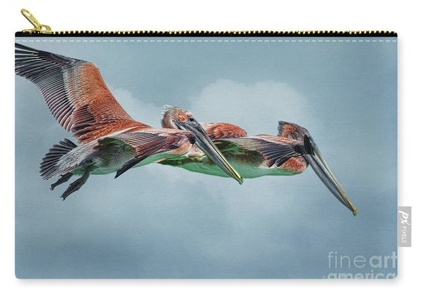 The Flying Pair Carry-all Pouch