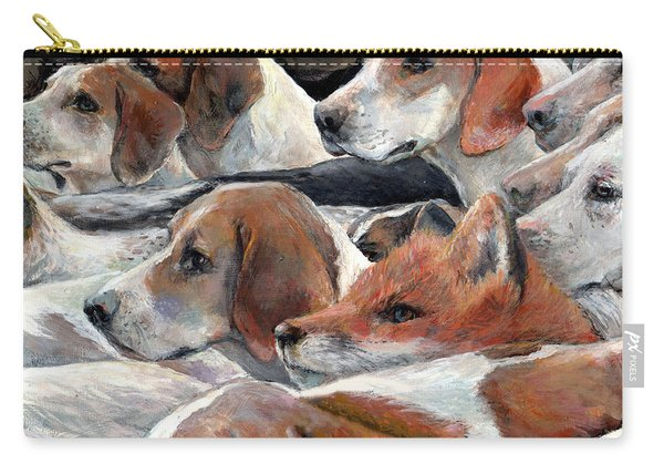 Fox Hunt Carry-all Pouch