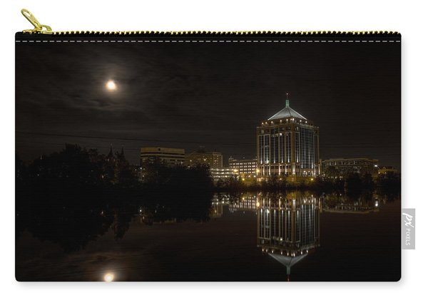 The Full Moon Over The Dudley Tower Carry-all Pouch