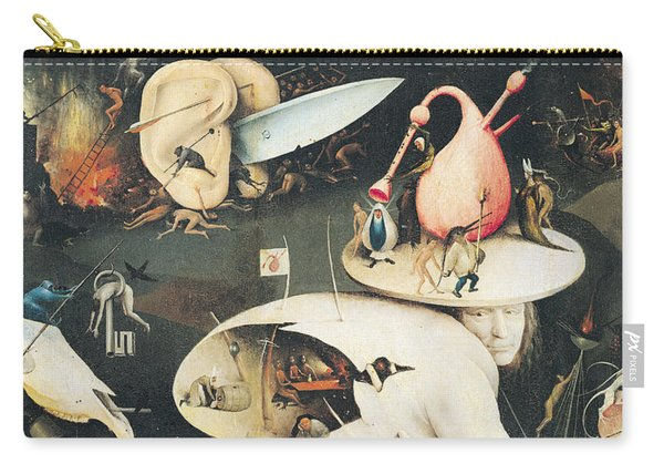 The Garden Of Earthly Delights Hell, Right Wing Of Triptych, C.1500 Oil On Panel See 322, 3425 Carry-all Pouch