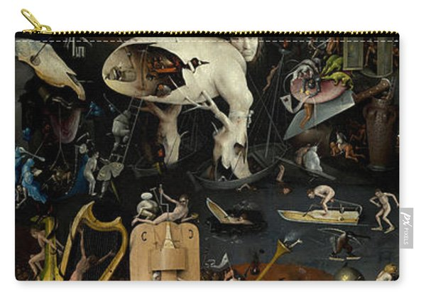 The Garden Of Earthly Delights. Right Panel Carry-all Pouch