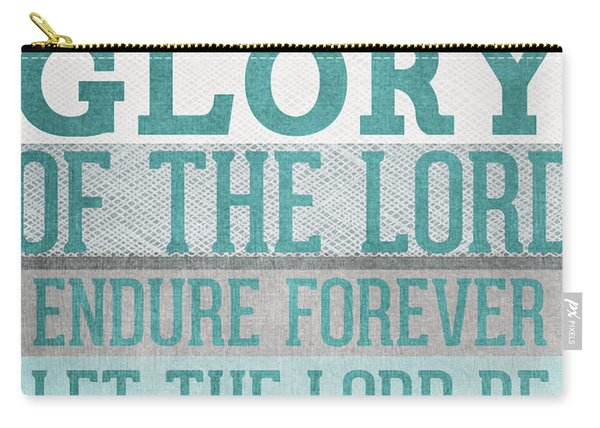 The Glory Of The Lord- Contemporary Christian Art Carry-all Pouch