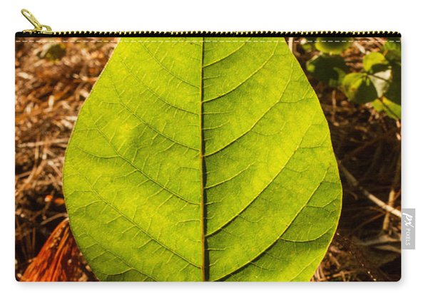 The Glow Of Leaf Venation  Carry-all Pouch