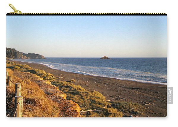 The Golden Coast Carry-all Pouch