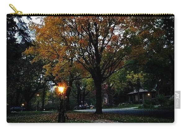 Illuminating Autumn Carry-all Pouch