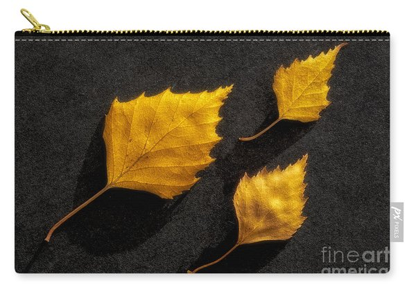 The Golden Leaves Carry-all Pouch