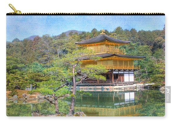 The Golden Pavilion Carry-all Pouch