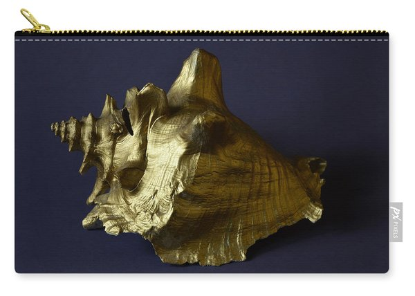The Golden Shell Carry-all Pouch