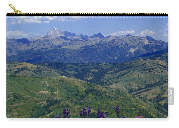 The Grand And Lupines Carry-all Pouch
