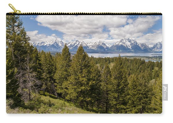The Grand Tetons From Signal Mountain - Grand Teton National Park Wyoming Carry-all Pouch
