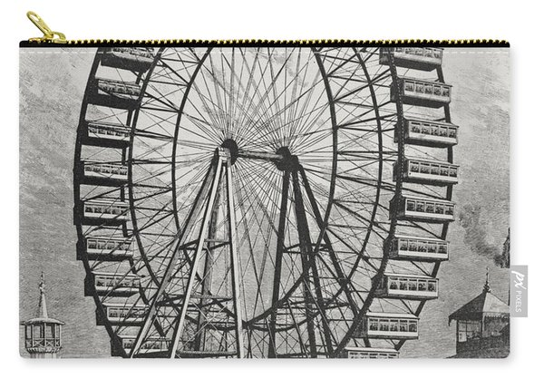 The Great Ferris Wheel In The World Columbian Exposition, 1st July 1893 Carry-all Pouch