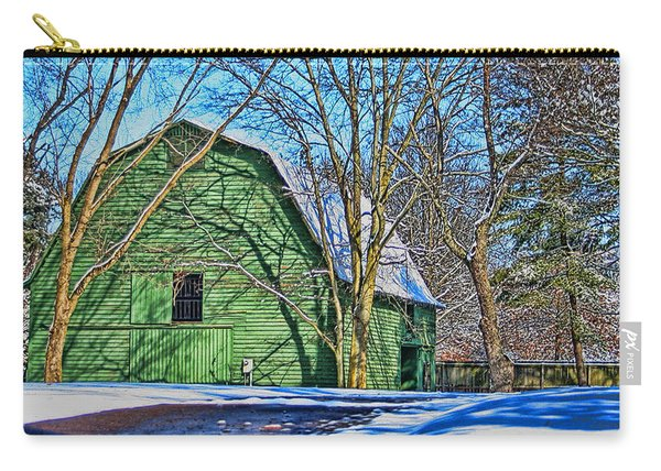 The Green Barn Carry-all Pouch