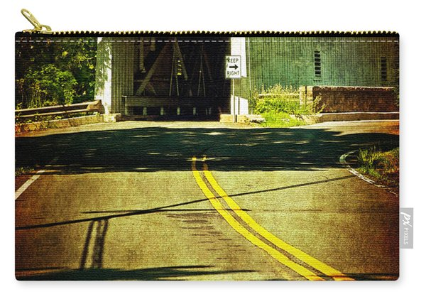 The Green Sergeants Covered Bridge Carry-all Pouch