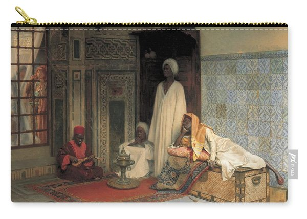 The Guards Of The Harem  Carry-all Pouch