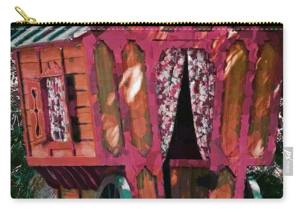 The Gypsy Caravan  Carry-all Pouch