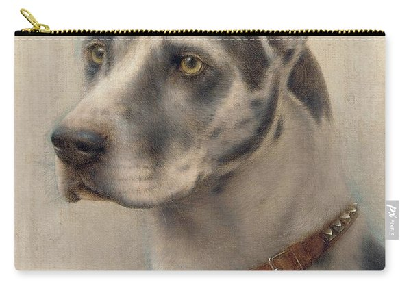 The Head Of A Doberman Carry-all Pouch