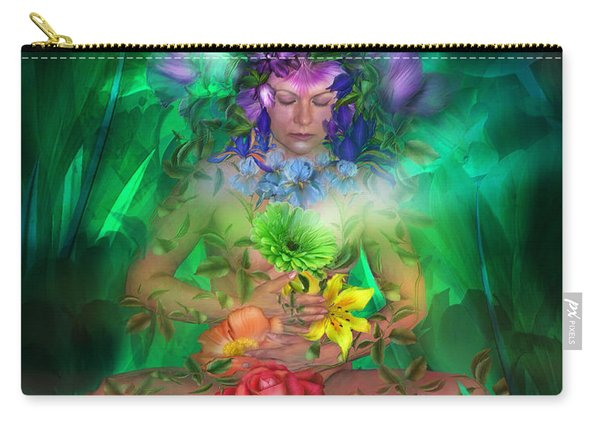 The Healing Garden Carry-all Pouch