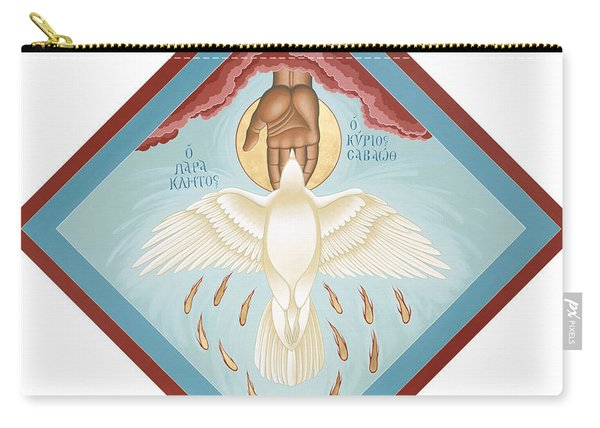 The Holy Spirit The Lord The Giver Of Life The Paraclete Sender Of Peace 093 Carry-all Pouch