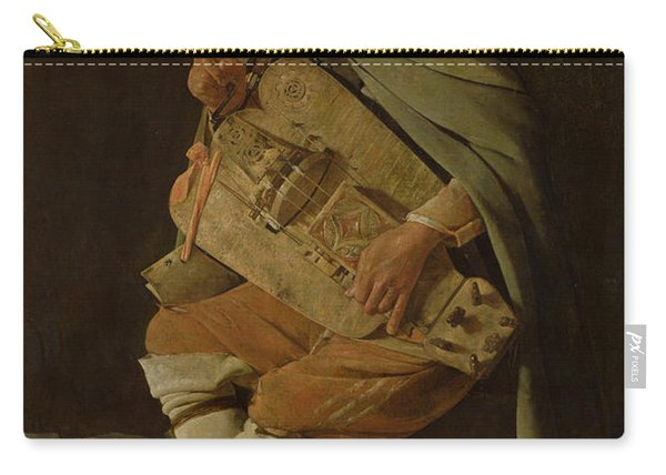 The Hurdy Gurdy Player Carry-all Pouch