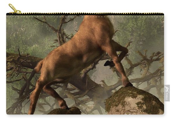 The Irish Elk Carry-all Pouch